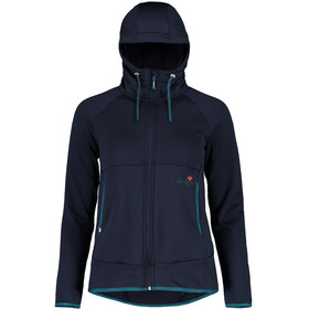 Maloja AmaliaM. Uni Hooded Fleece Jacket Women mountain lake